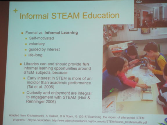 STEAM education in the community