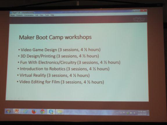 Boot Tamp Workshops