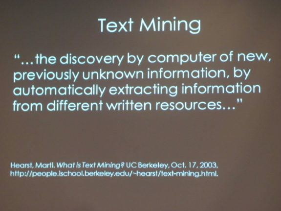 Text Mining Definition